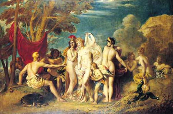 William Etty – The Judgement of Paris